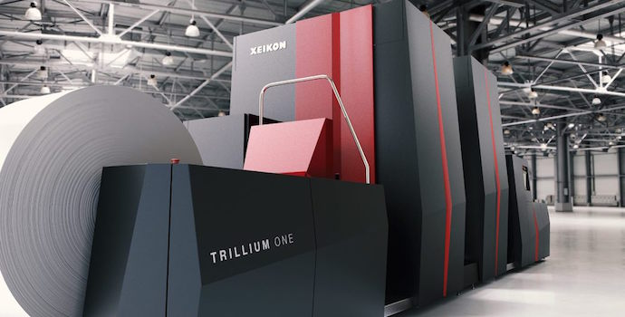 Xeikon Trillium One at Printing Report